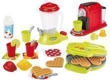 Vaflovač s mixérom a kávovarom Small Household Appliances Ecoiffier s palacinkami a 24 doplnkov od 18 mesiacov ECO2524