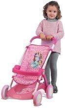 Kočík pre bábiku Disney Princezné Smoby športový (58 cm rúčka) ružový od 18 mes