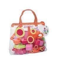 Dětská souprava na oběd Bubble Cook Écoiffier v tašce od 18 měsíců s 35 doplňky