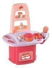 Přebalovací stolek Nursery Écoiffier pro panenku s kuchyňkou od 18 měsíců se 14 doplňky