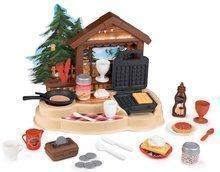 Horská chata palacinkáreň Winter Chalett Smoby s vaflovačom a sporákom s 30 doplnkami 46*25*39 cm SM310557