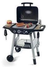 Grill Barbecue Smoby s mechanickými funkciami a zvukom a 18 doplnkami 73 cm výška 50*37*73 cm SM312001