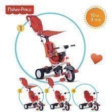 Dětská tříkolka Fisher-Price Charisma Touch Steering smarTrike od 10 měsíců červená