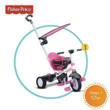 Tříkolka Fisher-Price Charm Plus Touch Steering smarTrike od 12 měsíců růžová