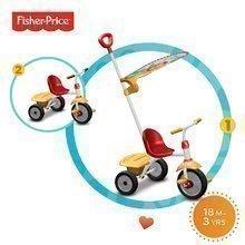Tříkolka Fisher-Price Glee Plus smarTrike od 18 měsíců červeno-žlutá