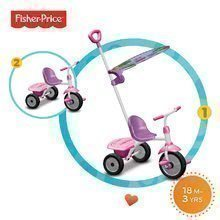 Dětská tříkolka Fisher-Price Glee Plus smarTrike od 18 měsíců růžovo-fialová