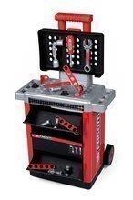 Pracovný stolík Facom Workshop Cart Smoby na kolieskach s 31 doplnkami 39*27*73 cm SM360218