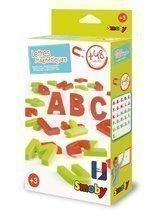 Magnetické písmenká veľké ABC Smoby farebné 48 kusov