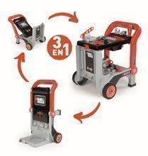 Pracovný vozík Black&Decker Devil Workmate 3v1 Smoby s náradím a 18 doplnkami