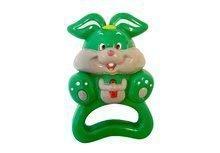 Hrkálka do ruky TIMBO zelený zajačik