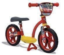 Bicicletă educativă Maşini 2 Learning Bike Comfort Smoby cu scaun reglabil de la 24 luni