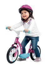 Balančné odrážadlo Learning Bike Smoby od 24 mesiacov bielo-ružové