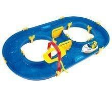 Vodná hra pre deti Waterplay Rotterdam skladacia s lodičkami modrá