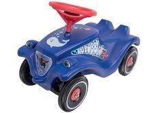 Maşinuţă babytaxiu Ocean BIG Bobby Car Classic cu claxon albastră de la 12 luni