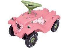 Odrážadlo auto Flower Bobby Car BIG Classic s klaksónom ružové od 12 mes