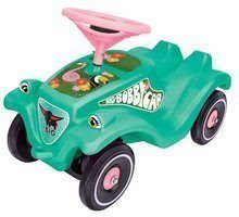 Babytaxiu Tropic Flamingo Bobby Car Classic BIG turcoaz cu sunet de la 12 luni