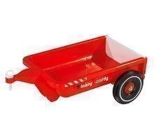 Prívesný vozík BIG hranatý k odrážadlám BIG od 12 mesiacov červený