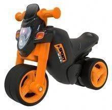 Odrážadlo motorka Sport Bike BIG s elektronickým klaksónom od 18 mesiacov čierno-oranžové