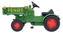 Šliapací traktor Fendt Big na reťazový pohon s plošinou a klaksónom + 3 rokov 102*46*54 cm BIG56552