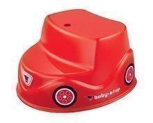 Dětské schůdky autíčko BIG od 18 měsíců červené