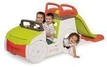 Preliezačka auto Adventure Car Smoby so zvukom, pieskoviskom a 150 cm šmykľavkou s UV filtrom od 18