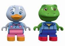Figurky AquaPlay kachnička Lotta a žabák Nils kompatibilní s Duplo 2 kusy od 3 let