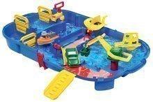 Vodní dráha pro děti AquaPlay LockBox v kufříku s hrošicí Willmou a přehradou s vodní pumpou