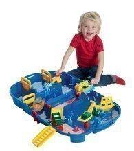 Vodní dráha pro děti AquaPlay Lock Box v kufříku s hrošicí Wilmou a přehradou s vodní pumpou od 3-7 let