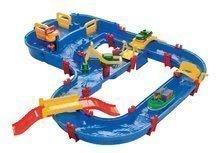Vodní dráha pro děti AquaPlay MegaBridge s kapitánem Bo, mostem a přehradou s vodou pumpou