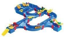 Vodná dráha pre deti AquaPlay SuperFun Set s priehradou, pumpou a 2 figúrkami