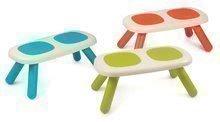 Ľavica pre deti KidBench Smoby zelená/modrá/červená s UV filtrom 50 kg nosnosť 63*34*27 cm (výška 27