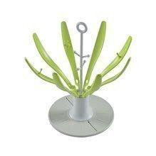 Scurgător pliabil pentru biberoane Beaba Floare neon