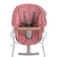 Textilní vložka Beaba Up & Down k dřevěné jídelní židle – růžová 912588