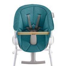 Textilní vložka Beaba Up & Down k dřevěné jídelní židli – modrá 912589