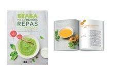 Carte de bucate sezonieră Beaba pentru vârsta cuprinsă între 4-24 luni - în limba engleză cu 80 de r