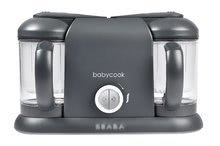 Parní vařič a mixér Beaba Babycook® Duo Plus Dark Grey dvojitý