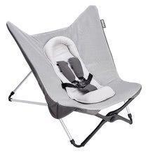 Dojčenské lehátko Beaba Evolutive Compact baby seat II Heather Grey skladacie od 0 mesiacov šedé BE915030