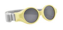 Sluneční brýle pro novorozence Beaba Clip strap Tender Yellow UV4 od 0-9 měsíců žluté