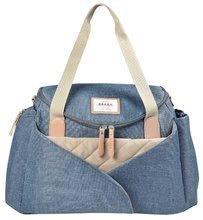 Prebaľovacia taška ku kočíku Beaba Sydney II Heather Blue modrá BE940252