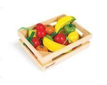 Drevené ovocie Janod v bedničke 12 ks