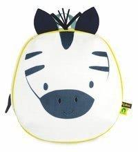 Batoh Zebra My Cuddle Backpack Home Kaloo se zipem 26*25 cm pro děti od 2 let