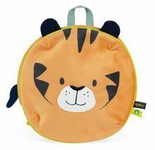 Batoh lev My Cuddle Backpack Home Kaloo se zipem 26*25 cm pro děti od 2 let