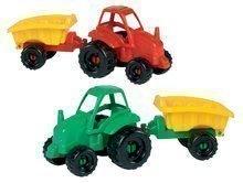 Traktor pre deti Picnic Écoiffier s vlečkou dĺžka 25 cm od 18 mesiacov červený / zelený