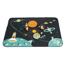 Dobrodružství ve Vesmíru dřevěná sada Space Adventure Tender Leaf Toys s podložkou galaxie