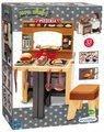 Kuchynka s pizzou Pizzeria Écoiffier obojstranná polohovateľná so stoličkou a 33 doplnkami od 18 mes