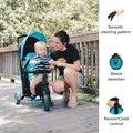 Trojkolka skladacia a sklápateľná smarTfold 6v1 smarTrike 300 Plus Blue TouchSteering kompaktná s EVA kolesami od 10 mes
