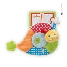 Plyšový slimáčik Colors-My Sweet Doudou Snail Kaloo s hrkálkou a hryzátkom 25 cm pre najmenších